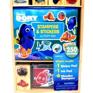 Disney Finding Dory Stampers and Stickers Activity